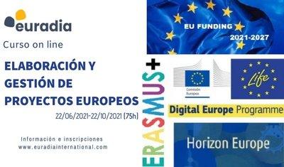 CURSO ELABORACION Y GESTION DE PROYECTOS EUROPEOS