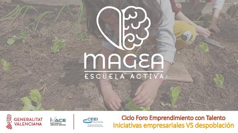 "Presentación Arantxa Arroyo ""Magea Escuela Activa"""