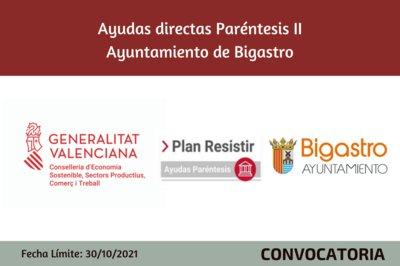 Ayudas Económicas Covid 19 - Ayuntamiento de Bigastro