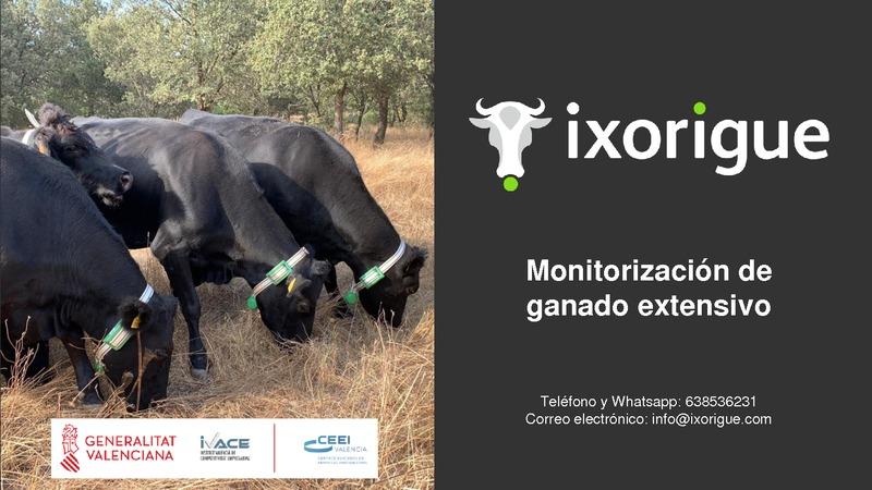 Presentación Ixorigue - Monitorización de ganado extensivo