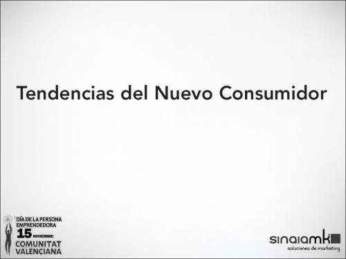 Tendencias del nuevo Consumidor