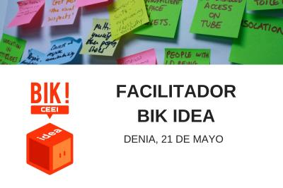 Sesión Facilitador BIK Idea Denia