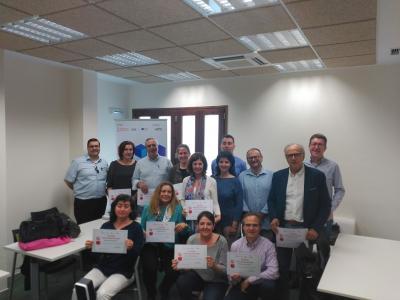 Capacitación de más de 30 agentes de la provincia como mentores y facilitadores BIK Idea