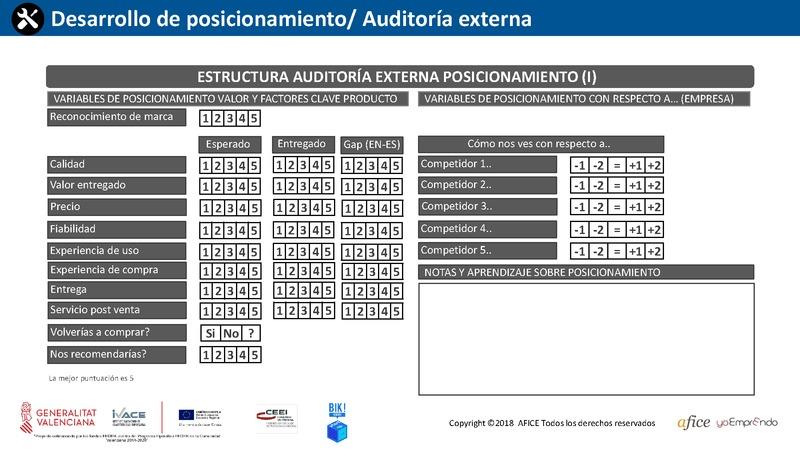 31 - Auditoría Externa Posicionamiento 1