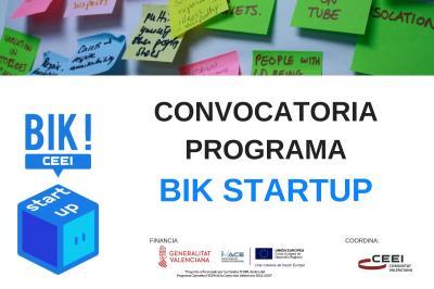 Convocatoria Bik Startup