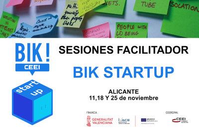 Sesión Facilitadores BIK STARTUP en Alicante