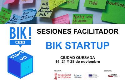 Sesión Facilitadores BIK STARTUP en Ciudad Quesada