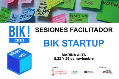 Sesión Facilitadores BIK STARTUP MARINA ALTA