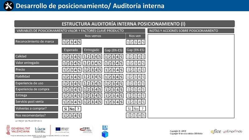 33 - Auditoría Interna Posicionamiento 1