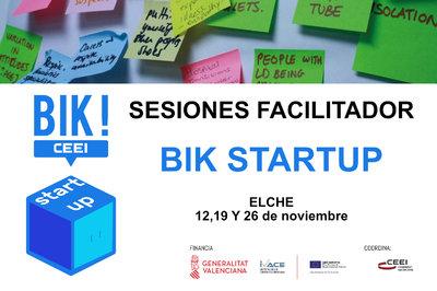 Sesión Facilitadores BIK STARTUP en Elche