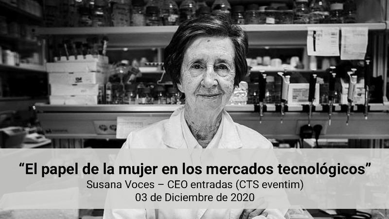 """Ponencia de Susana Voces en el Focus Pyme """"Mujeres y Tecnología"""""""